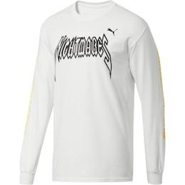 Camiseta de mangas largasPUMA x DCMX Nightmares, Puma White, Small