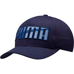 Ringer Snapback, Blue, small