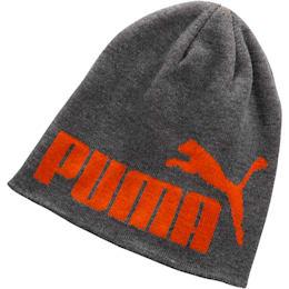 PUMA #1 Men's Beanie, Grey/Orange, small
