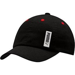 Evercat Chill Boys' Cap, BLACK/RED, small