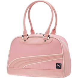 Women's Mesh Grip Shoulder Bag, MEDIUM PINK, small