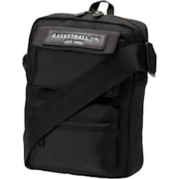 PUMA Solid Portable Shoulder Bag, Black, small