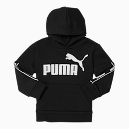 Amplified Pack Toddler Fleece Hoodie, PUMA BLACK, small