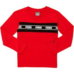 T-shirt à manches longues rapiécé AmplifiedPack, tout-petit