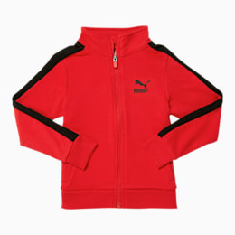 Little Kids' T7 Track Jacket, HIGH RISK RED, small