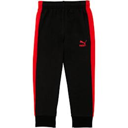 Little Kids' T7 Track Pants, PUMA BLACK, small