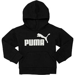 No. 1 Logo Infant Fleece Hoodie, PUMA BLACK, small