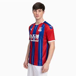 Crystal Palace Home Replica-trøje til mænd, Blue/Red, small