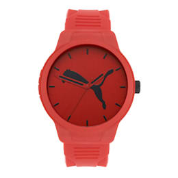 Reset Polyurethane V2 Men's Watch, Red/Red, small-IND