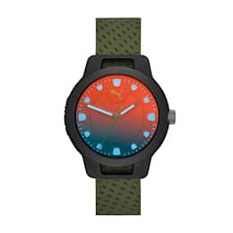 Reset v1 Watch, Black/Green, small