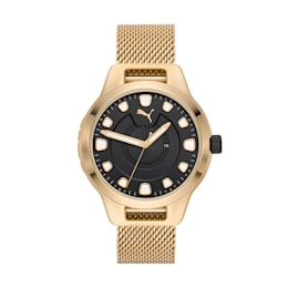 Reset v1 Watch, Gold/Gold, small