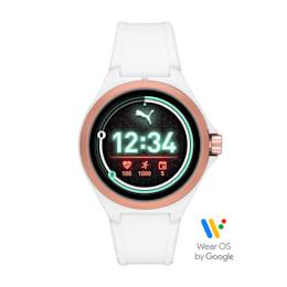 ユニセックス スマートウォッチ RD WHT WHT STR 時計