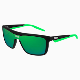 Sonnenbrille Made to Move, BLACK-BLACK-GREEN, small