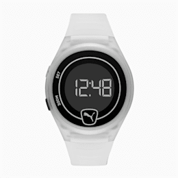 Forever Faster Clear Digital Watch