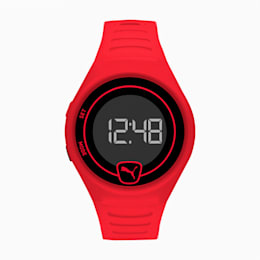 Forever Faster Red Digital Watch