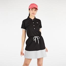 ゴルフ ウィメンズ カラーブロック ドレス ワンピース