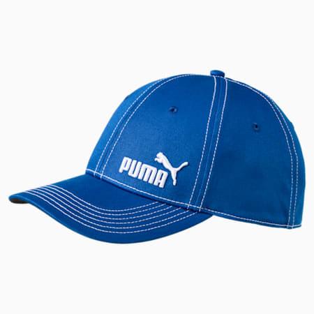 Puma baseball stretchfit cap, Lapis Blue, small-IND