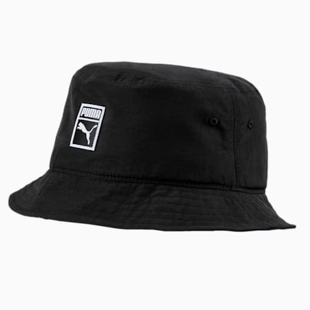 Archive Bucket Hat, Puma Black-Nylon, small