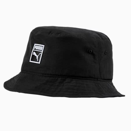 Archive Bucket Hat, Puma Black-Nylon, small-SEA