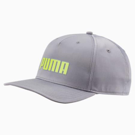 Golf Go Time Flex Snapback Hat, QUIET SHADE, small-SEA