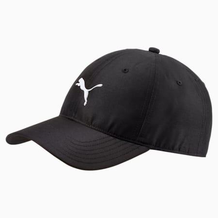 Golf Men's Pounce Adjustable Cap, Puma Black, small-SEA