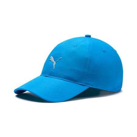 Golf Men's Pounce Adjustable Cap, Bleu Azur, small-SEA
