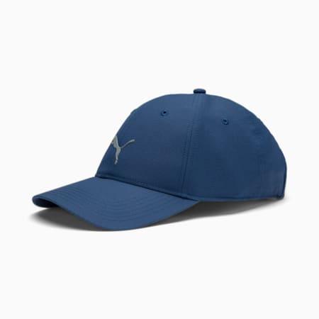 Golf Men's Pounce Adjustable Cap, Dark Denim, small-SEA