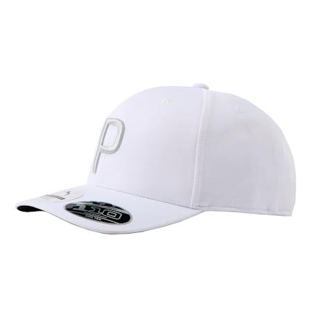 ゴルフ Pマークスナップバックキャップ, Bright White Heather, small-JPN