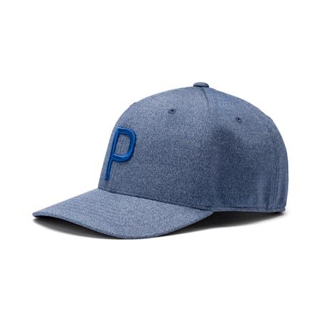 ゴルフ Pマークスナップバックキャップ, Peacoat-Dazzling Blue, small-JPN