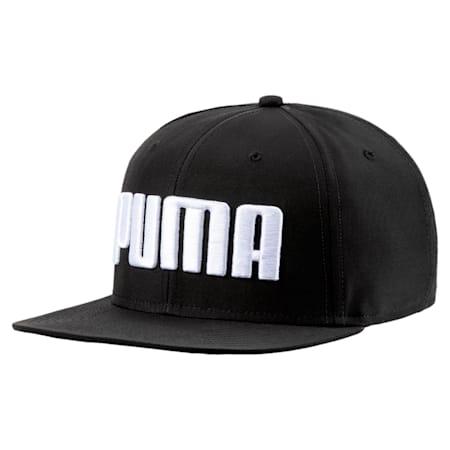 プーマ フラットブリム キャップ, Puma Black, small-JPN