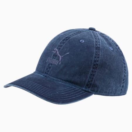Archive Baseball Cap, Peacoat, small