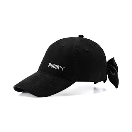 Women's Bow Cap, Puma Black, small