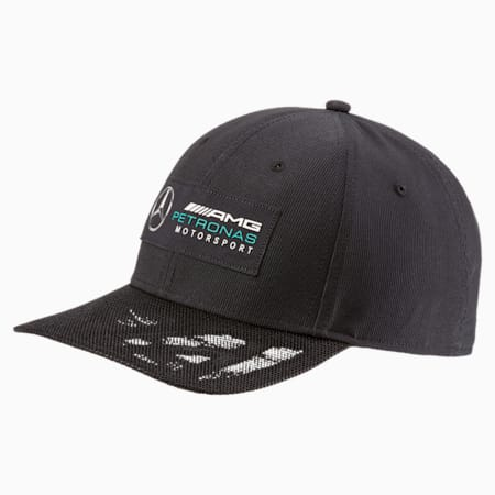 MERCEDES AMG PETRONAS Motorsport Baseball Cap, Puma Black, small