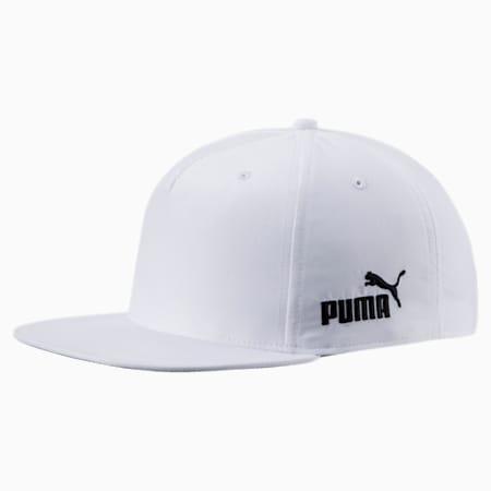 Golf Cresting Snapback Cap, Bright White, small