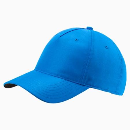 Cresting Men's Golf Adjustable Cap, Electric Blue Lemonade, small-SEA