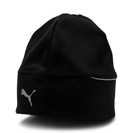 Reflective Running Beanie, Puma Black, small-IND