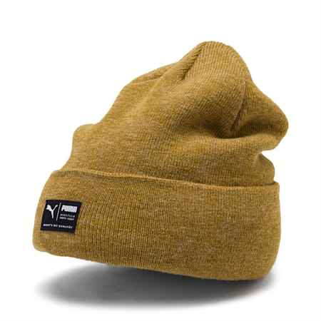 Archive Melierte Beanie, Moss Green, small