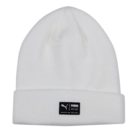 Archive Heather Beanie, Puma White, small-IND