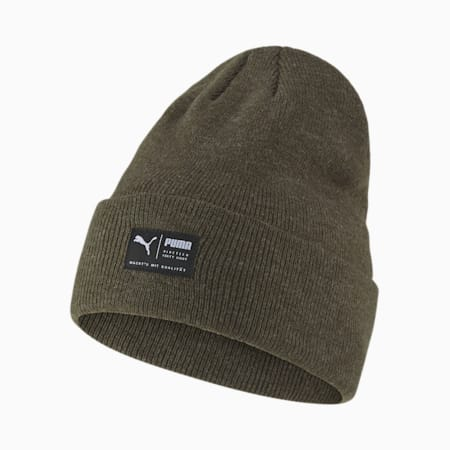 Archive Melierte Beanie, Forest Night, small