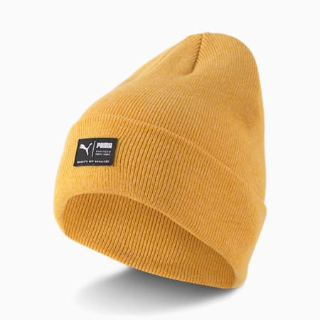 Archive Heather Beanie, Mineral Yellow, small