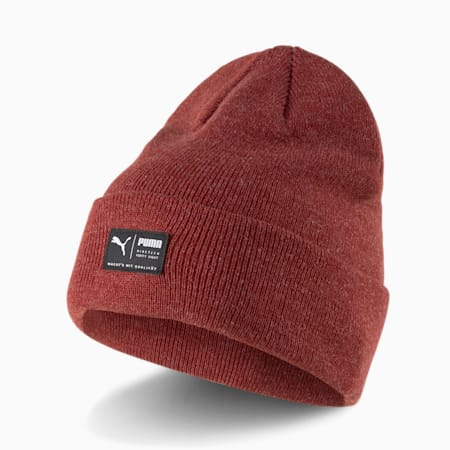 Archive Heather Unisex Beanie, Intense Red, small-IND