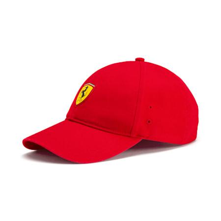 Ferrari Fan Baseball Cap, Rosso Corsa, small-SEA