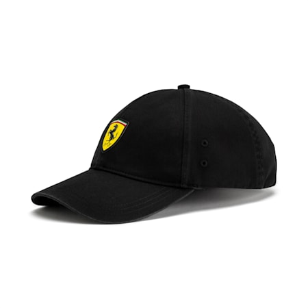Scuderia Ferrari Fan Baseball Hat, Puma Black, small