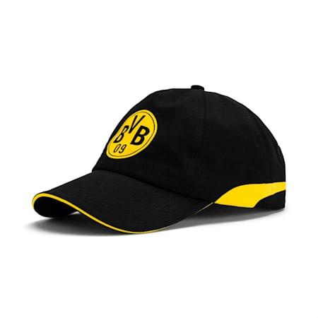 BVB Training Cap, Puma Black-Cyber Yellow, small-SEA