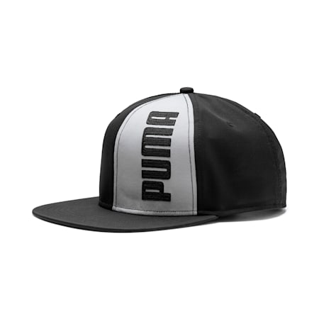 Flatbrim Cap II, Puma Black-Limestone, small-IND