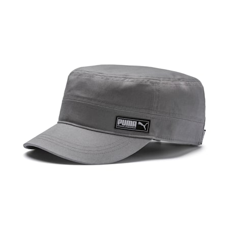 PUMA Military Cap, Charcoal Gray, small