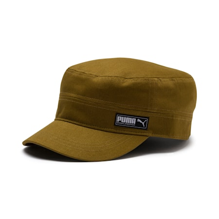 Military Cap, Moss Green, small-IND