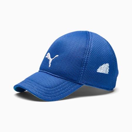 Mesh Kids' Training Cap, Palace Blue, small-SEA