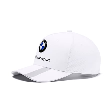 BMW M Motorsport Basbeball Cap, Puma White, small