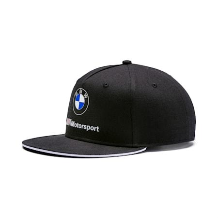 BMW M Motorsport Flatbrim Cap, Puma Black, small